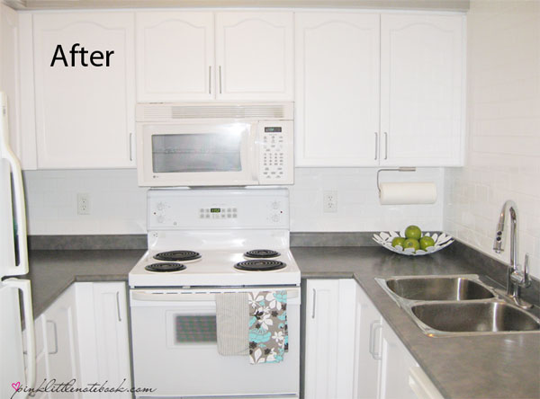 What fresh paint amp minor upgrades can do for a condo pink little