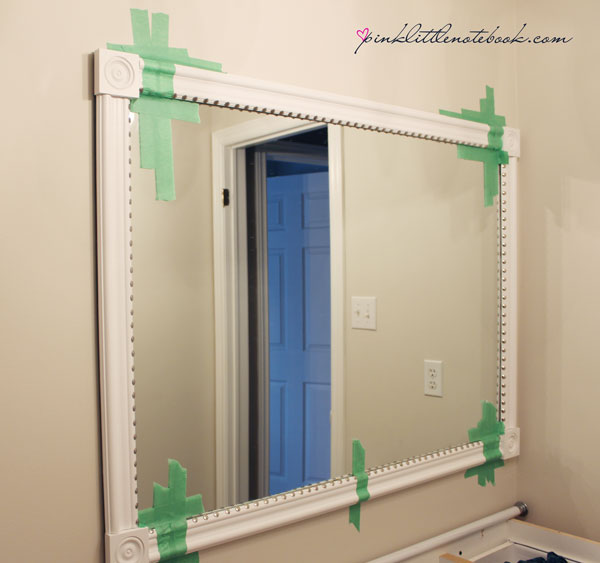 Mirror Decoration frame builder grade mirror : How To Frame Out That Builderu2019s Grade Mirroru2026the easy way! : Pink ...