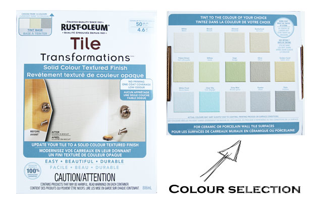 Rustoleum Countertop Paint On Tile : Yes! You Really Can Paint Tiles: Rust-Oleum Tile Transformations Kit ...