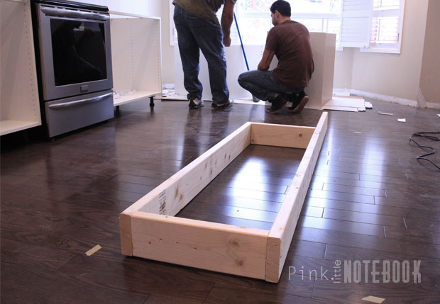 Creating An IKEA Kitchen Island Pink Little NotebookPink Little - Does ikea have flooring