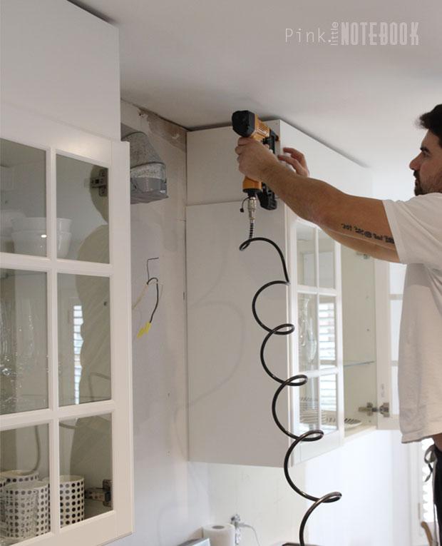 Kitchen Soffit Decor Ideas: DIY: How To Disguise A Kitchen Soffit