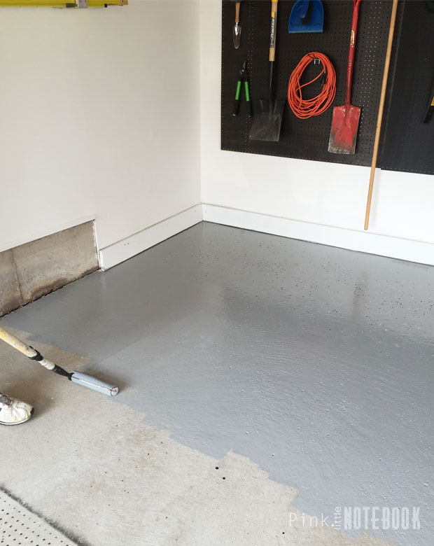 Diy Garage Floor Tutorial Rocksolid Polycuramine Pink